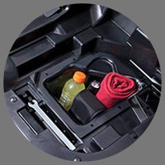 UNDER-SEAT STORAGE BOX