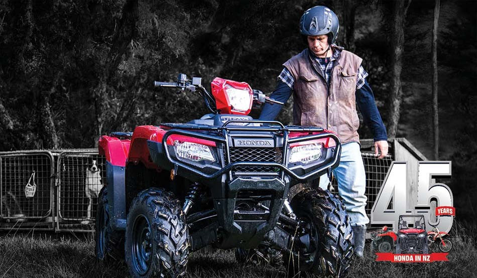 TELL US YOUR FARM STORY AND CELEBRATE 45 YEARS OF HONDA IN NZ
