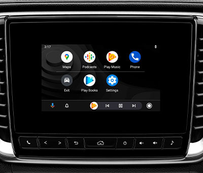 "LX Double Cab 7"" Touchscreen Multimedia System with Android Auto"