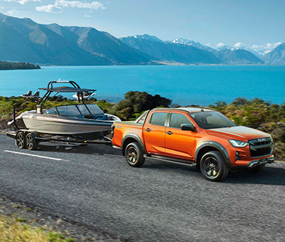 X-Terrian Double Cab 3,500kg (3.5 Tonne) Towing Ability