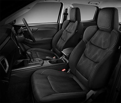 Isuzu D-Max LS-M Double Cab Interior - Front Seats