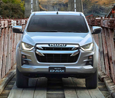 Isuzu D-Max LS Double Cab Ute - Chrome Grille