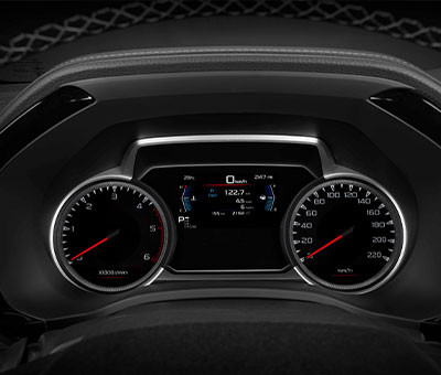 LX Double Cab Multi Information Display (MID)