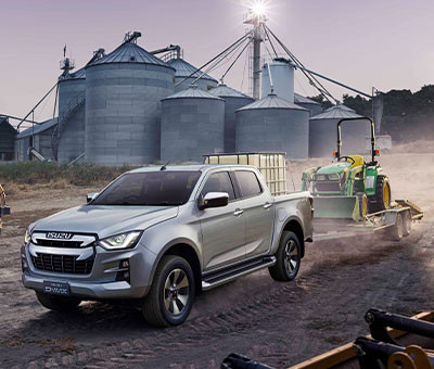 Isuzu D-Max LS Double Cab Ute - 3,500kg Towing Ability