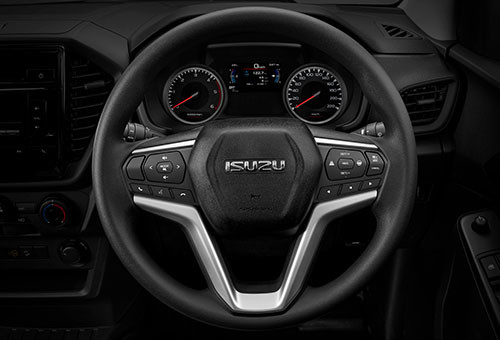 Isuzu D-Max LS-M Double Cab Multi-Function Steering Wheel