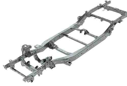X-Terrian Double Cab Ladder Rail Chassis