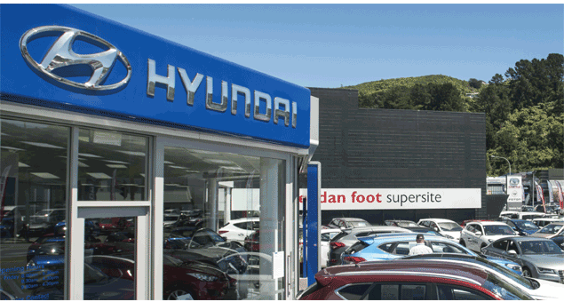 Hyundai Fleet Vehicle Range