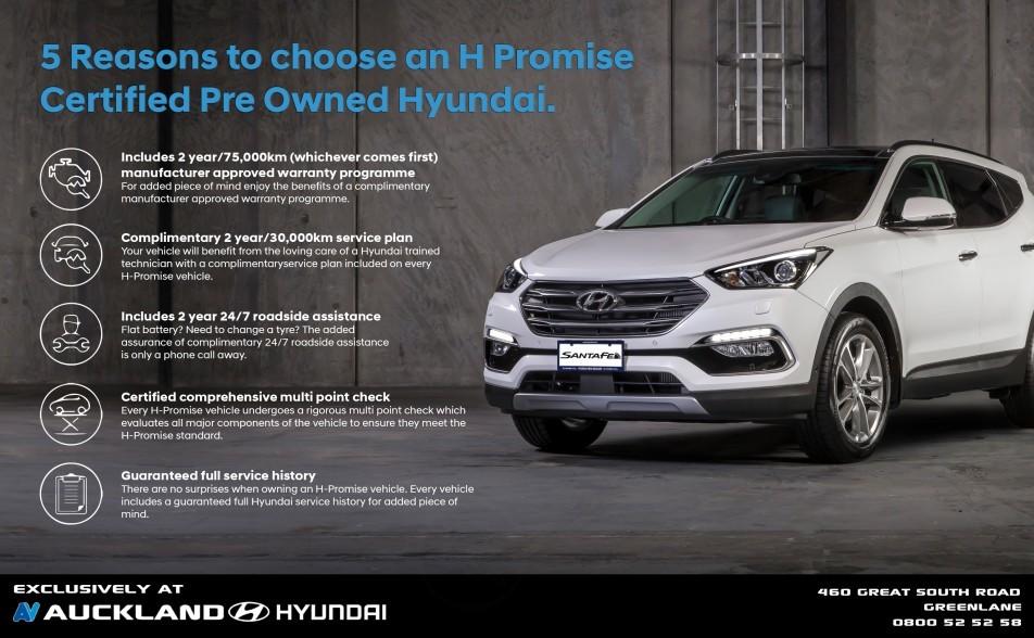 Hyundai Warranty Check >> Hyundai H Promise Auckland Hyundai