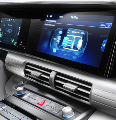 "12.3"" wide-screen navigation"