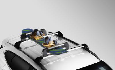 Hyundai Tucson Snowboard Roof Rack