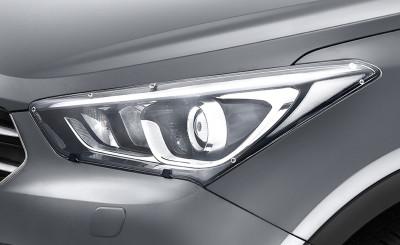 Hyundai Santa Fe Headlight Protector