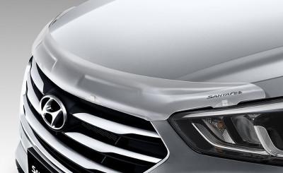 Hyundai Santa Fe Bonnet Protector - Clear