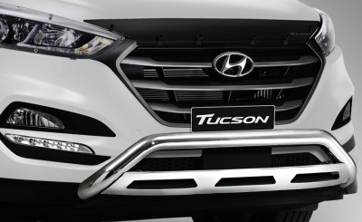 Hyundai Tucson Polished Nudge Bar