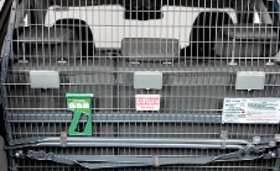 Hyundai i40 Wagon Cargo Barrier