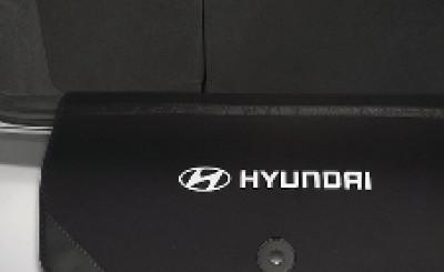 Hyundai i30 Wagon Fabric Rear Bumper Protector