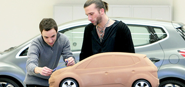 Hyundai Designers Building Scale Model of Car