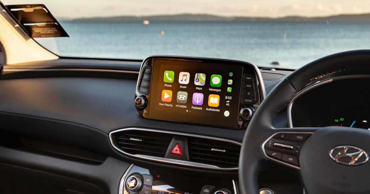 Santa Fe Technology | Hyundai New Zealand
