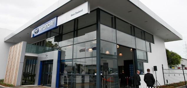 Hyundai Motors New Zealand Office Building