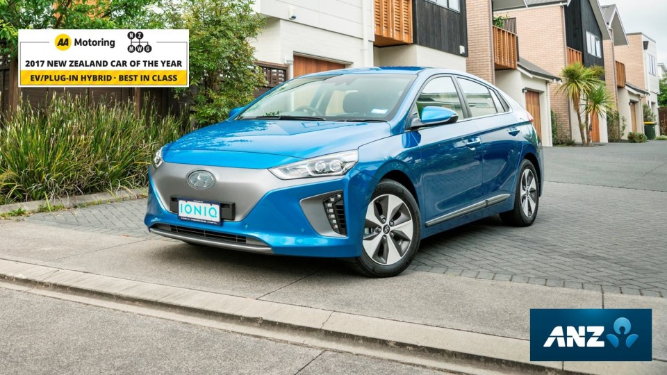 IONIQ EV in top three at NZ Car of the Year