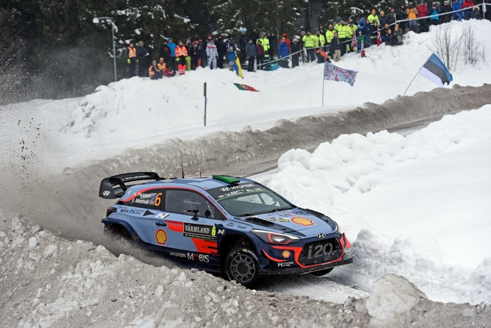 Top five finish in Sweden for Paddon