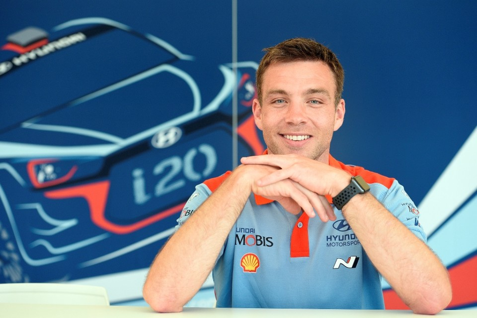 Paddon and Marshall fighting fit for Rally Sardegna