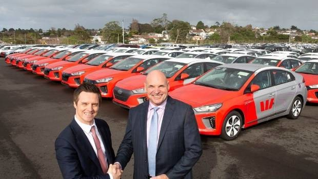 Westpac adds 65 new Hyundai EVs to its company fleet