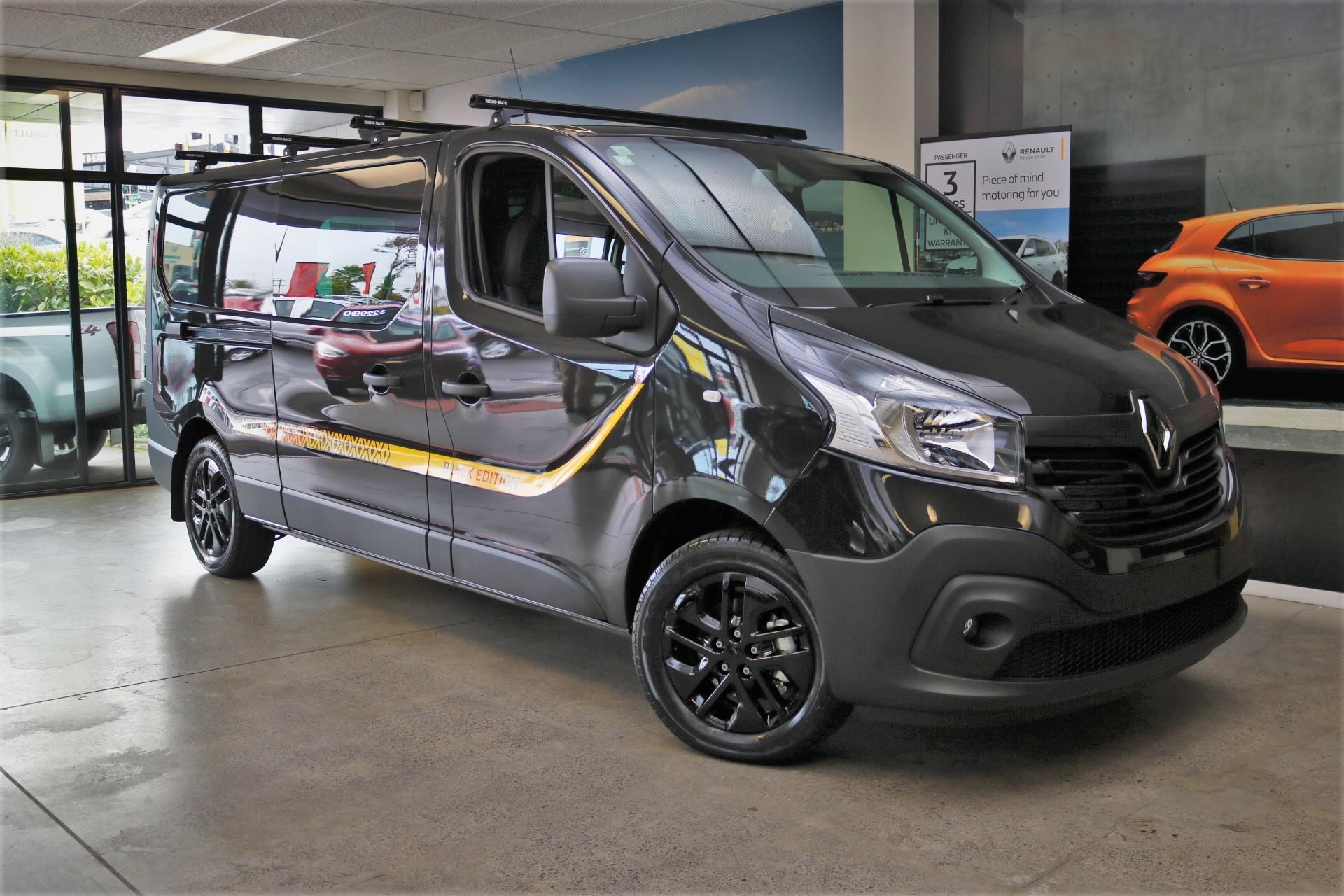 Trafic Black Edition Renault New Zealand